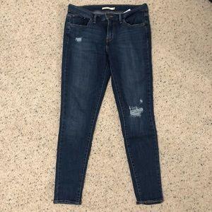 Levi's 710 denim pants